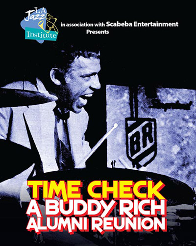 LA Jazz Institute Tribute to Buddy Rich - May 19 - May 22, 2016